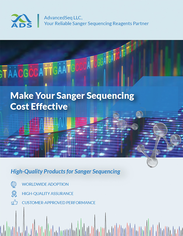 Sanger sequencing product brochure